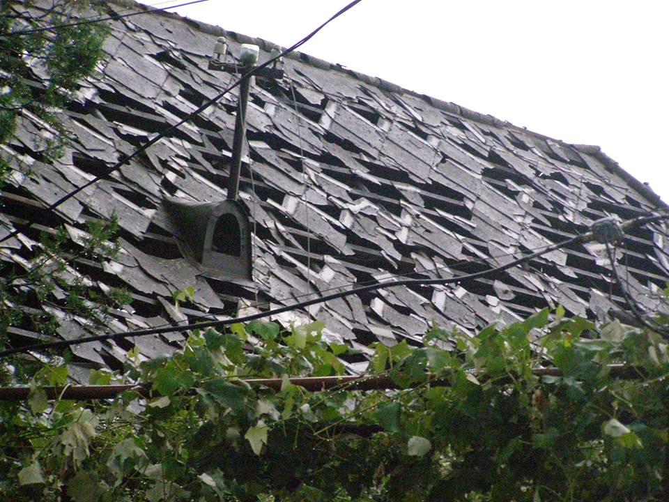 пробитые крыши